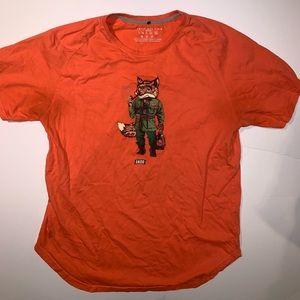 AKOO Fox T-shirt XXL